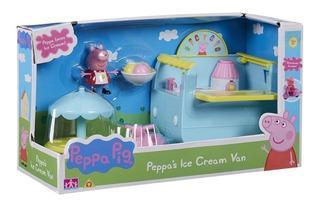 Peppa Pig Carro De Helados Ice Cream Van Y Moto Piu Online