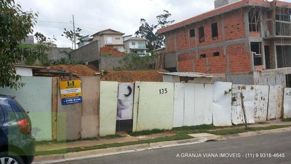 Terreno Residencial À Venda, Palm Hills, Granja Viana, Cotia. Te0052-agv - Te0052