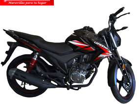 Moto Loncin Jl150 Cr1 150cc Año 2018 Color Negro/rojo 0 Km