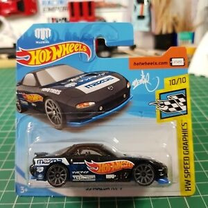 Hot Wheels 2019 Dba 95 Mazda Rx-7 Madmike