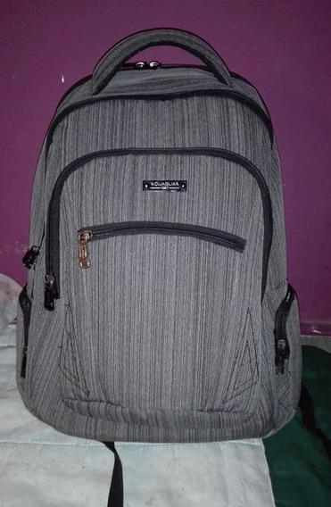Mochila Quaglia Reforzada Porta Notebook Hombre/mujer Q304