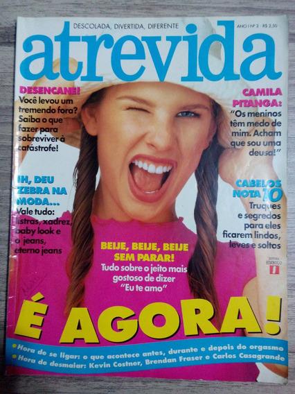 Atrevida Out/94 Camila Pitanga Kevin Costner Van Damme