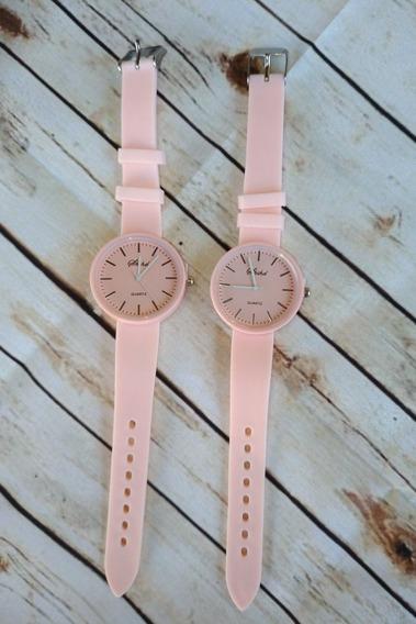 Relógio Feminino Rosa Barato Promoção