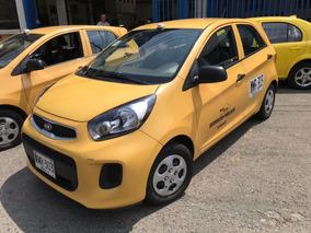 Taxi Kia Picanto Ekotaxi 2017, Recibo Taxi Usado O Cupo