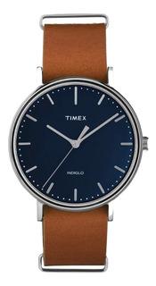 Reloj Hombre Timex Tw2p97800 Cuero | Envio Oficial