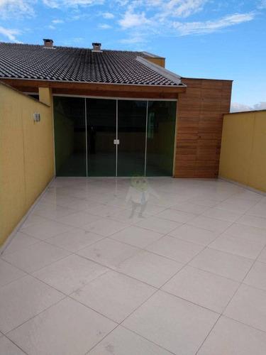 Imagem 1 de 9 de Cobertura Com 3 Dormitórios À Venda, 136 M² Por R$ 630.000,00 - Vila Curuçá - Santo André/sp - Co0388