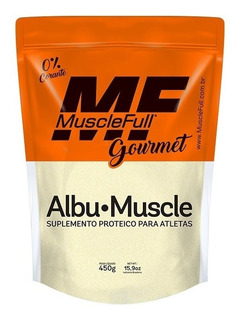 Albu Muscle 450g - Muscle Full