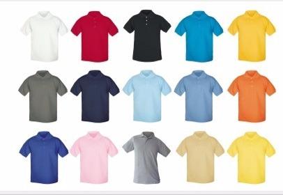 Playera Tipo Polo, Dif Colores, 5 Pzas Y Con Envío Gratis