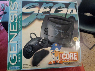 Consola Sega Génesis 3. Con 16 Juegos !!! 4 Josticks.