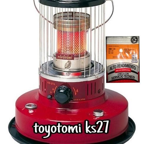 Imagen 1 de 1 de Mecha Para Estufa Toyotomi Ks27 - Ks27a