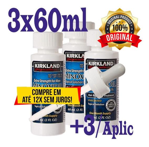 Minoxidil Kirkland 05%/ Tratam. Inten. Resultado Garantido