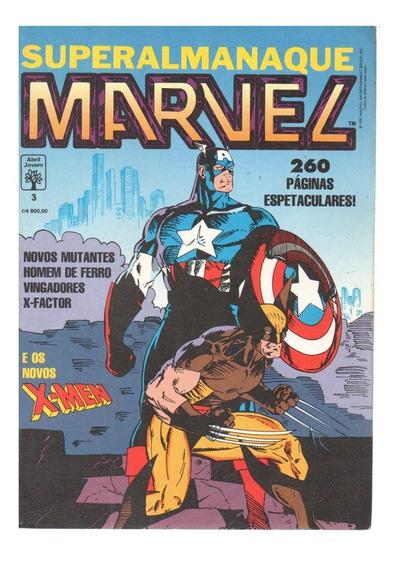 Superalmanaque Marvel 3, Abril (faço Módico)