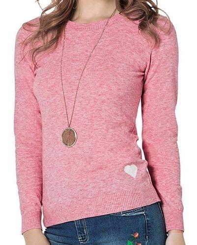 73070 Sueter Dama Color Rosa Mod. 172724 Marca Tej Original