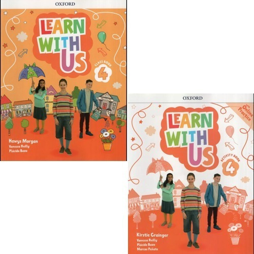 Learn With Us 4 - Class Book And Activity Book - Oxford