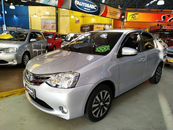 Etios 2016 1.5 Platinum Sedan Kit Multimídia, Top De Linha!