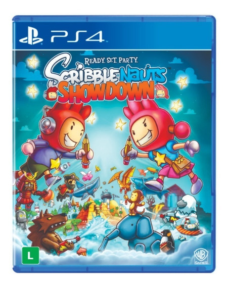 Jogo Scribblenauts Showdown Ps4