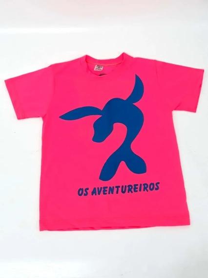 Camiseta Camisa Infantil Aventureiros Lucas Neto Blusa