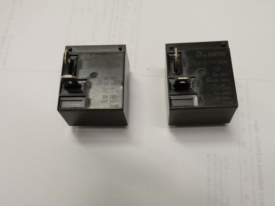 Rele Sli-s-112dm30a Placa Ar Condicionado Split Kit 2 Pçs