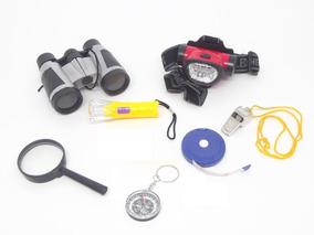 Super Kit Detetives Do Prédio Azul - 7 Ítens + Crachá Dpa