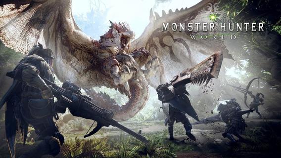 Monster Hunter World Pc - 100% Original (steam Key) Imediato