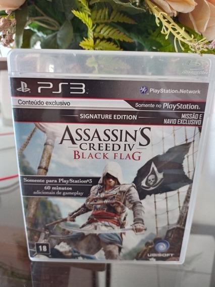 Assassins Creed Iv Black Flag Ps3 Promoção Mídia Física!