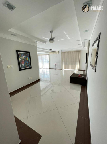 Imagem 1 de 30 de Cobertura Com 4 Dormitórios À Venda, 354 M² Por R$ 2.500.000 - Vila Guilhermina - Praia Grande/sp - Co0023