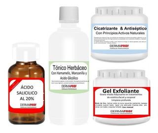 Acido Salicilico 20% Peeling Completo Pocitos Acne Cicatrices Marca Dermaprof