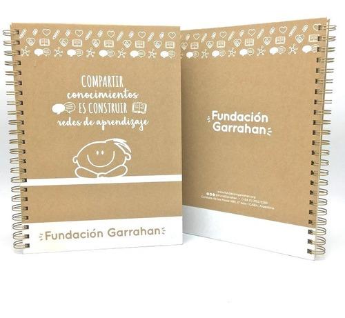 Eco Cuaderno Universitario Tapa Dura - Fundación Garrahan E