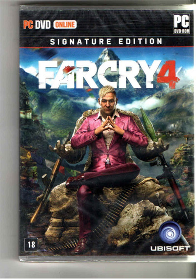 Far Cry 4-gold Edition Pc-dvd (midia Fisica)