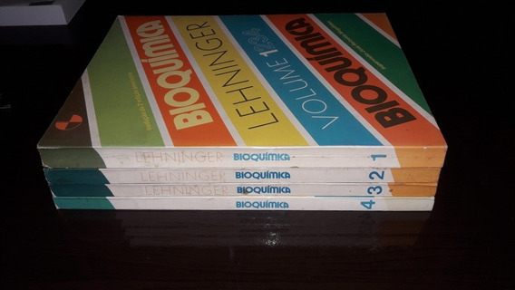 Bioquímica - Lehninger (todos Os Volumes)