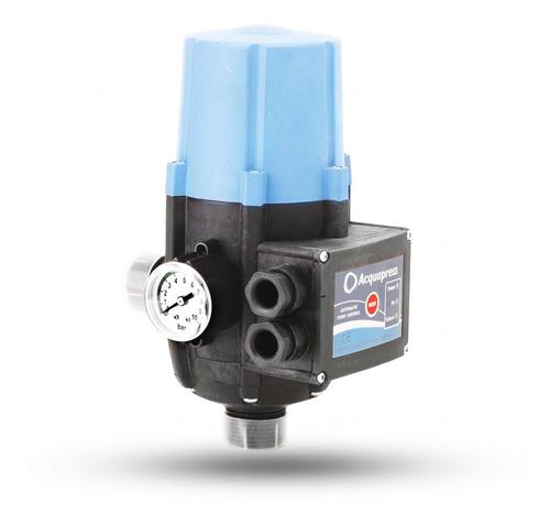 Presurizador Automático Con Manómetro Acquapress Gianni