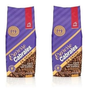 Cafe Grano Super Cabrales Oro 1kg Tostado