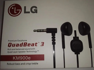 Auricular LG Quad Best3 Universal