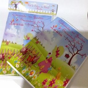 Kit De Colorir Jardim Encantado - Todos Os Temas