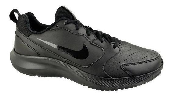 Tênis Nike Todos Preto Casual Caminhada Academia Original Nf