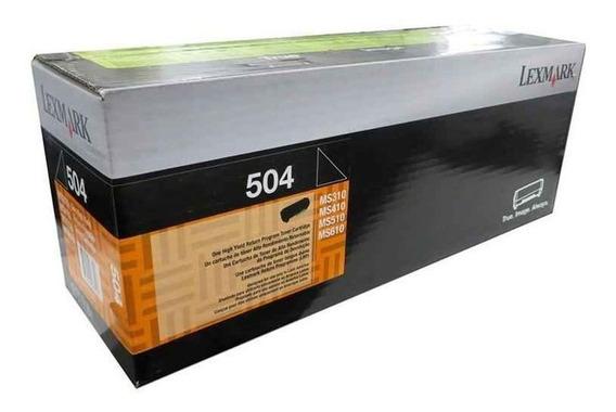 Toner Lexmark Original Ms 310 410 415 1.500 Pag Cód 50f4000