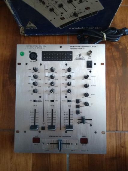 Mixer Bheringer Dx-626 Semi Novo Com A Caixa