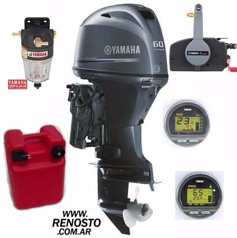 Motores Yamaha 60hp 4 Tiempos Efi Full Renosto
