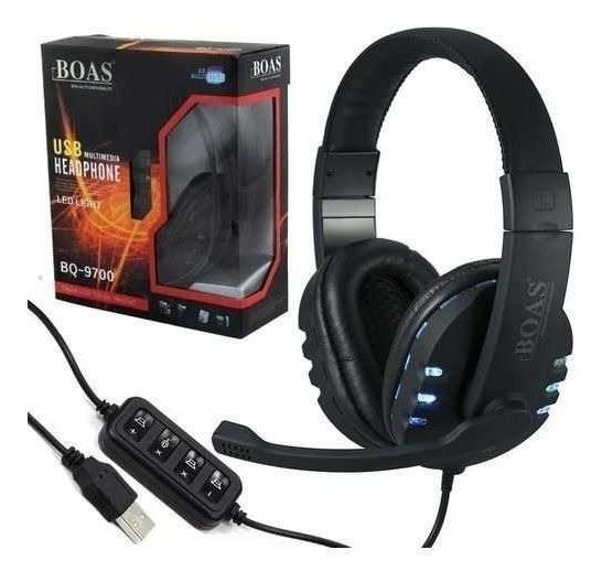 Fone Ouvido Headset Gamer Usb Pc 7.1 Headphone