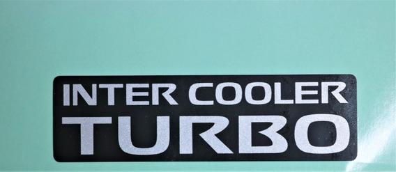 Adesivo Inter Cooler Turbo Nissan Xterra - Frontier 02/2006