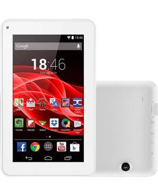 Tablet Multilaser Branco Com Película Protetora