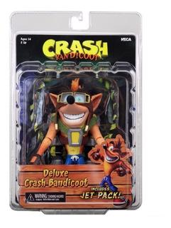 Neca Crash Bandicoot 7 Deluxe Crash With Jetpack
