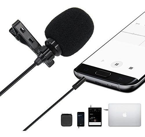 Imagen 1 de 3 de Microfono De Solapa Celular Entrevista Con Bifurcador Gratis