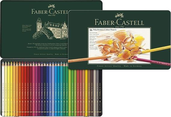 Lapices Faber Castell Polychromos X 36 Caja