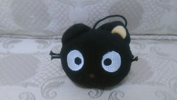 Boneco Hello Kitty Pelúcia Preto