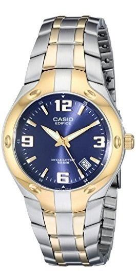 Casio Ef106sg-2av Edifice Reloj Analógico Digital De Acero
