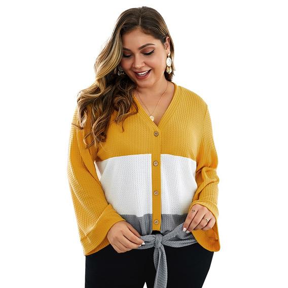 Suéter De Talla Grande Para Mujer