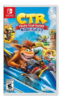 Ctr Crash Team Racing Nitro Fueled Switch Envio Gratis