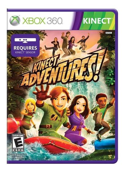 Kinect Adventures Jogo Xbox 360 - Original
