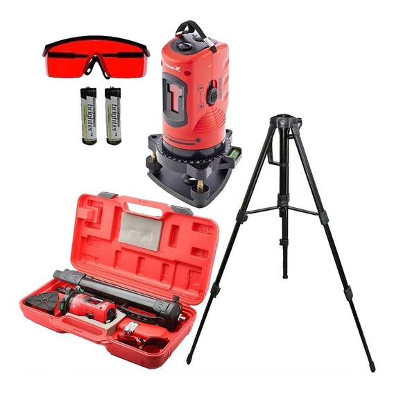 Nivel Laser 10m Medidor Automatic C/ Tripé Maleta 350339 Mtx